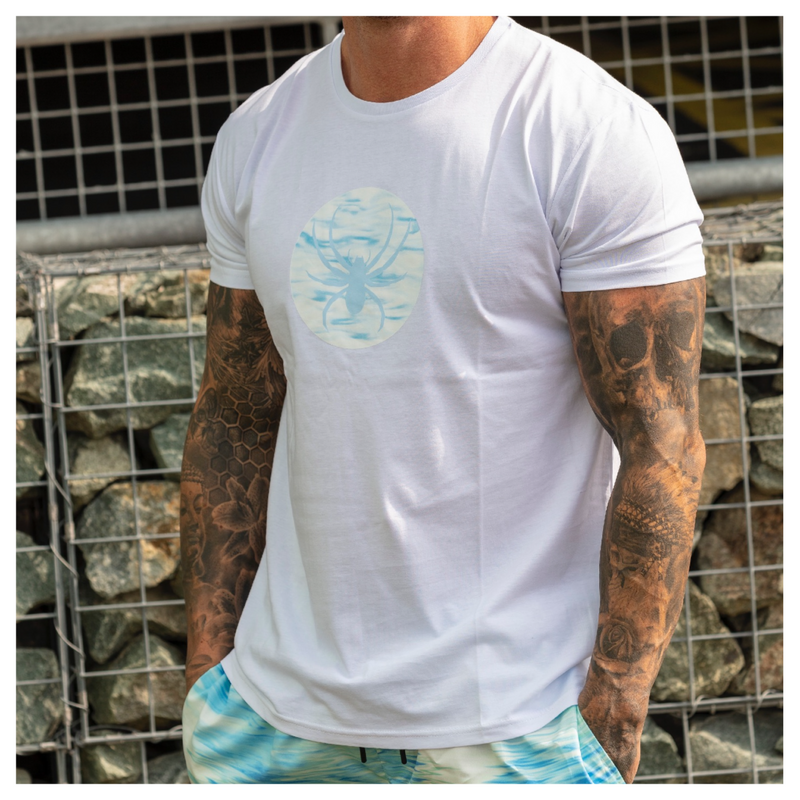 Wave T-Shirt white