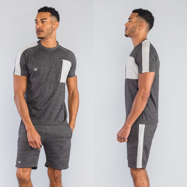 Luca Twinset Charcoal