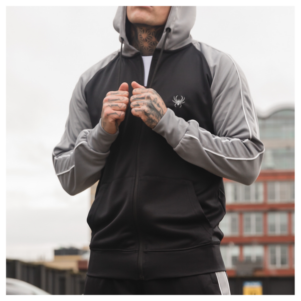 Sterling Hood Black/Grey