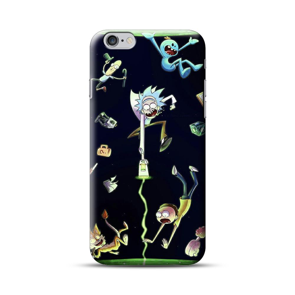 Rick And Morty Open A Dimension iPhone 6 Plus / 6S Plus Case