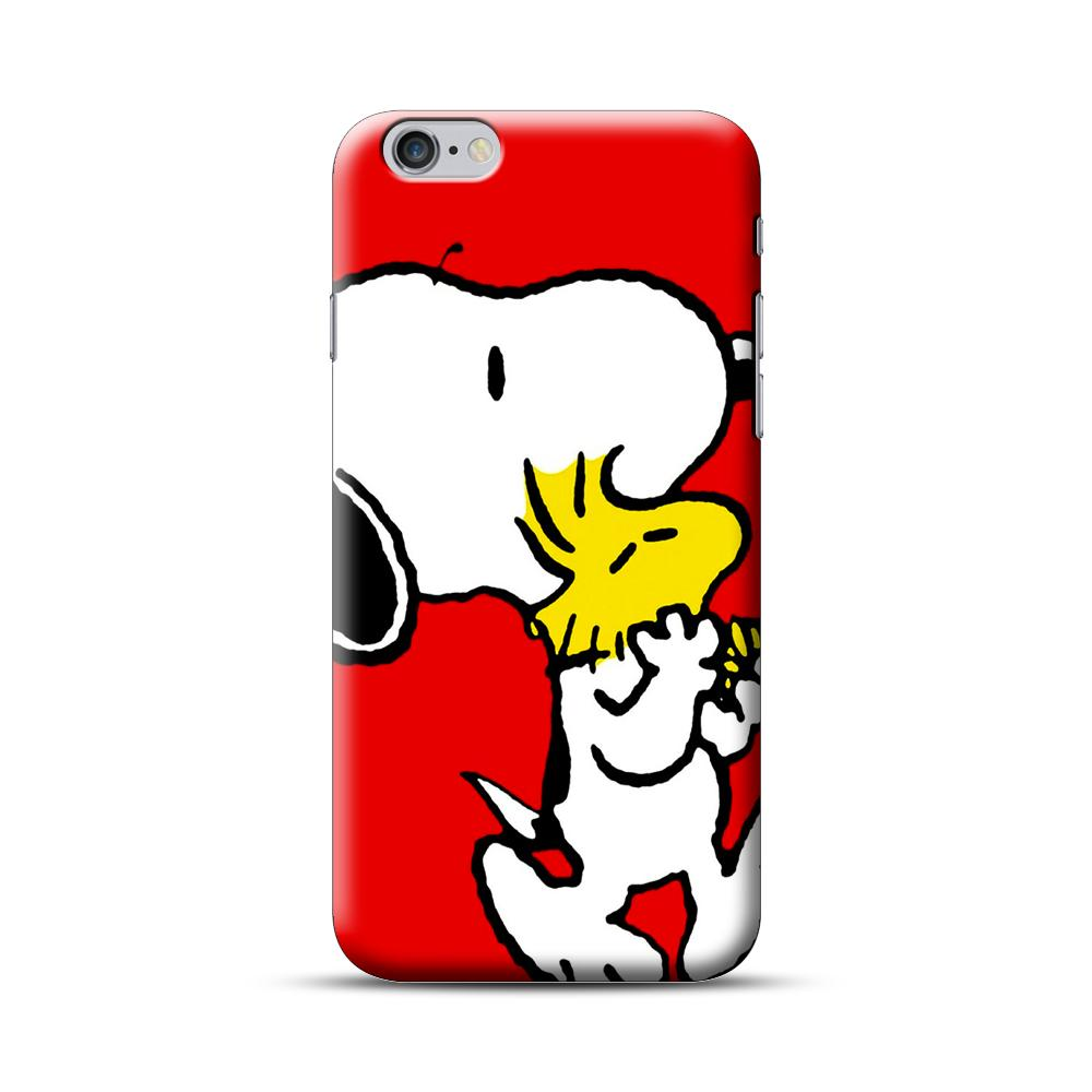 Snoopy And Woodstock  Red iPhone 6 Plus / 6S Plus Case