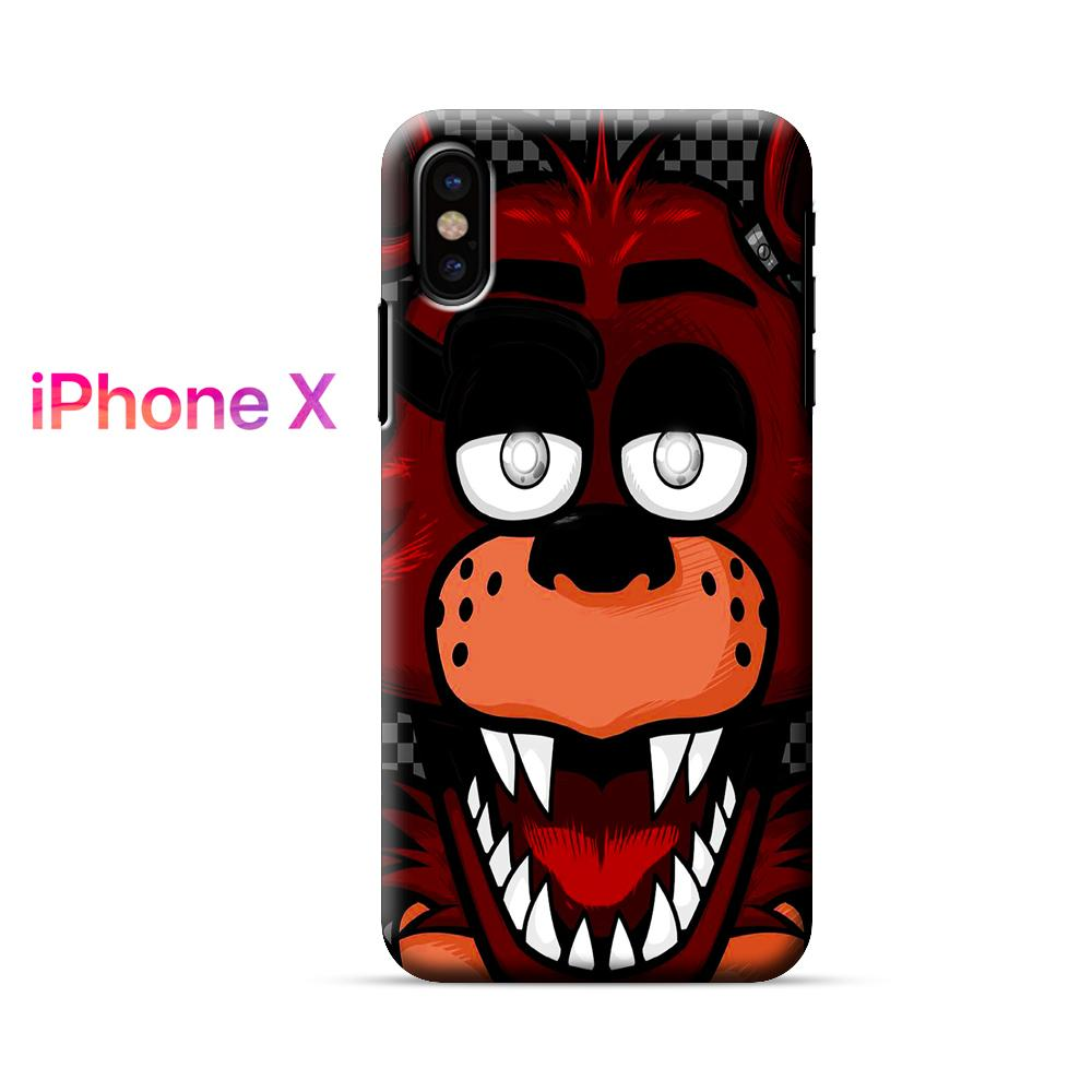 Five Nights at Freddys Face iPhone X Case