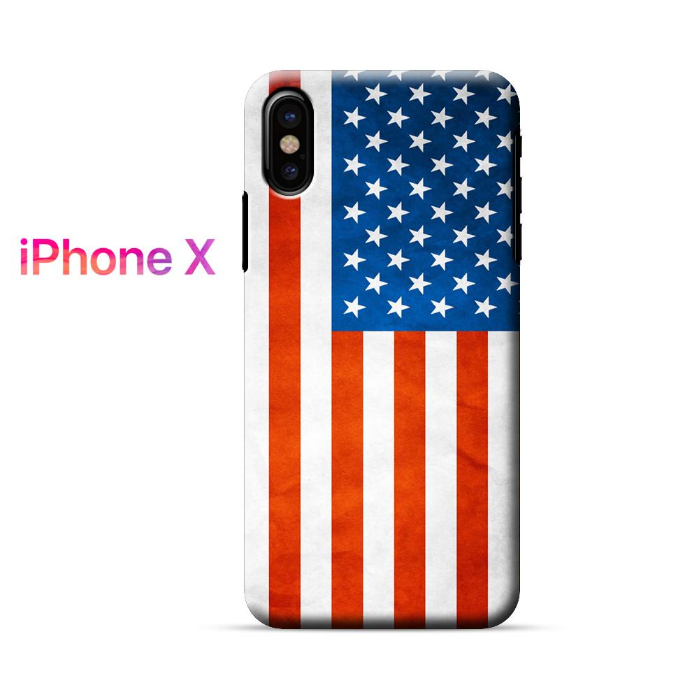 American Flag iPhone X Case