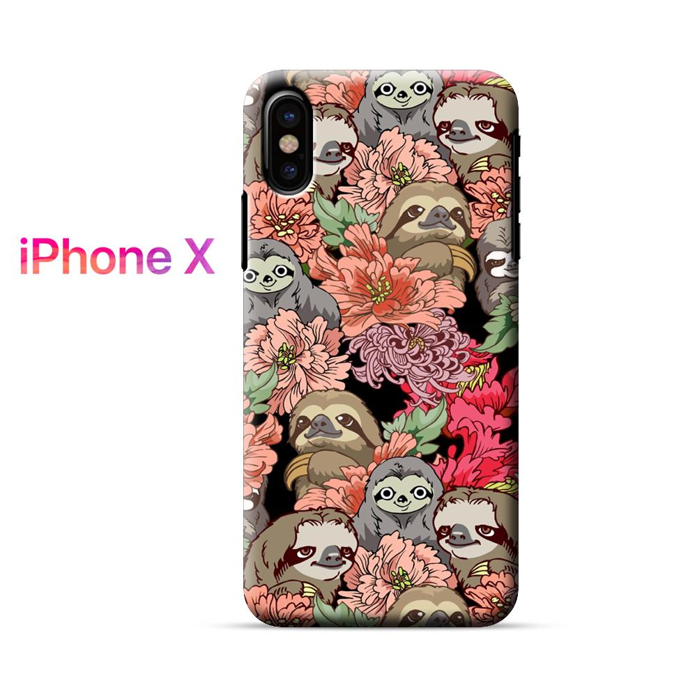 Because Sloths iPhone X Case