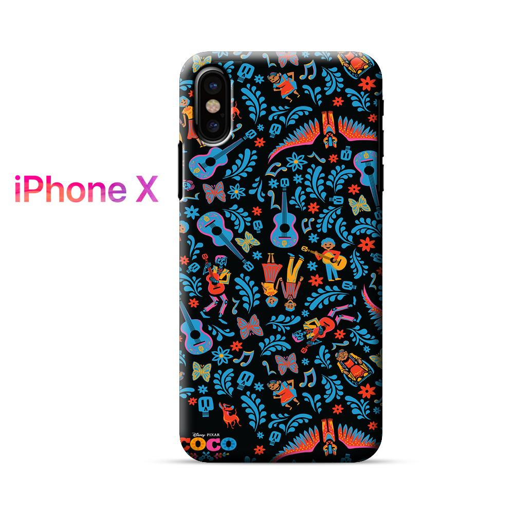 Coco Disney Collage iPhone X Case