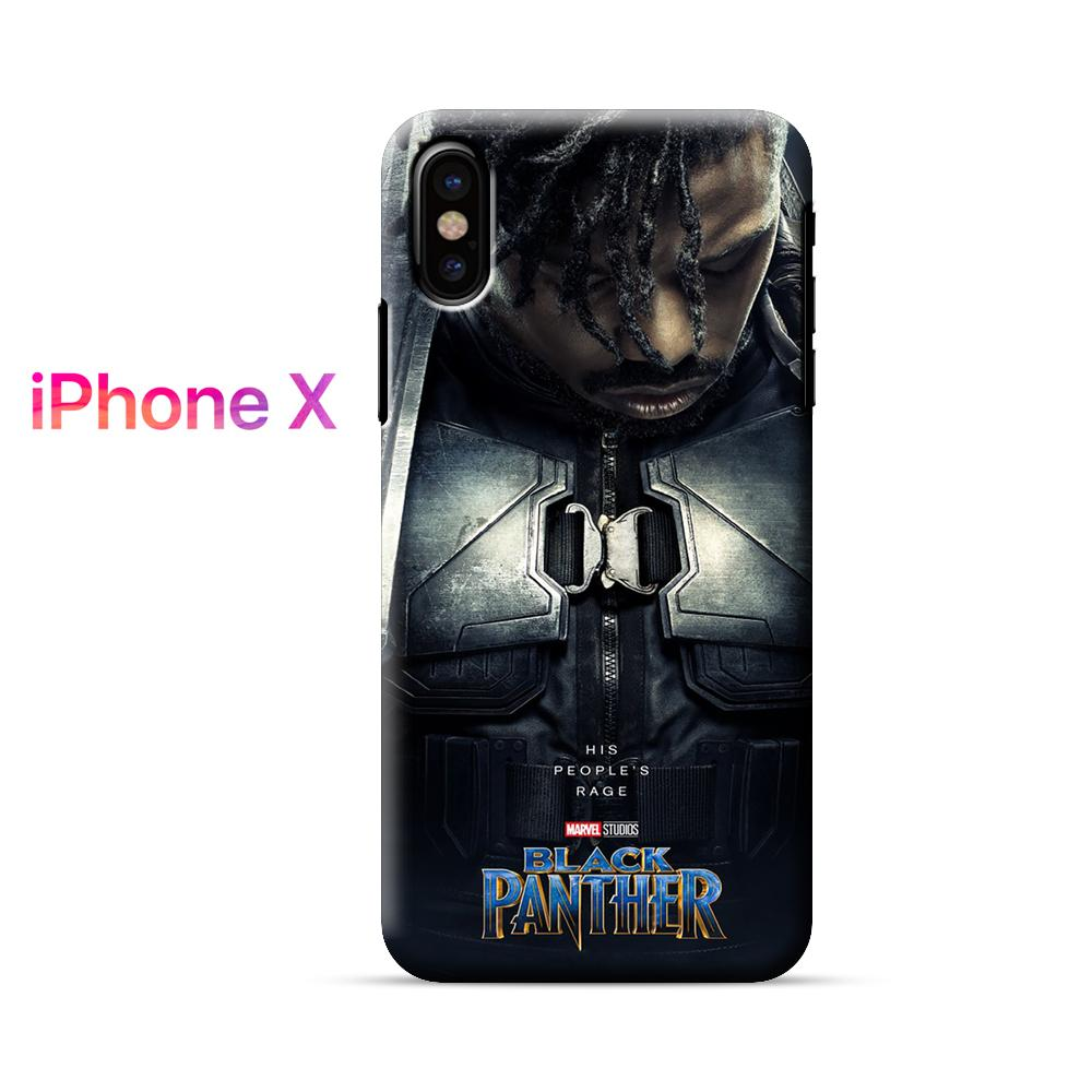 Black Panther His People Rage iPhone X Case