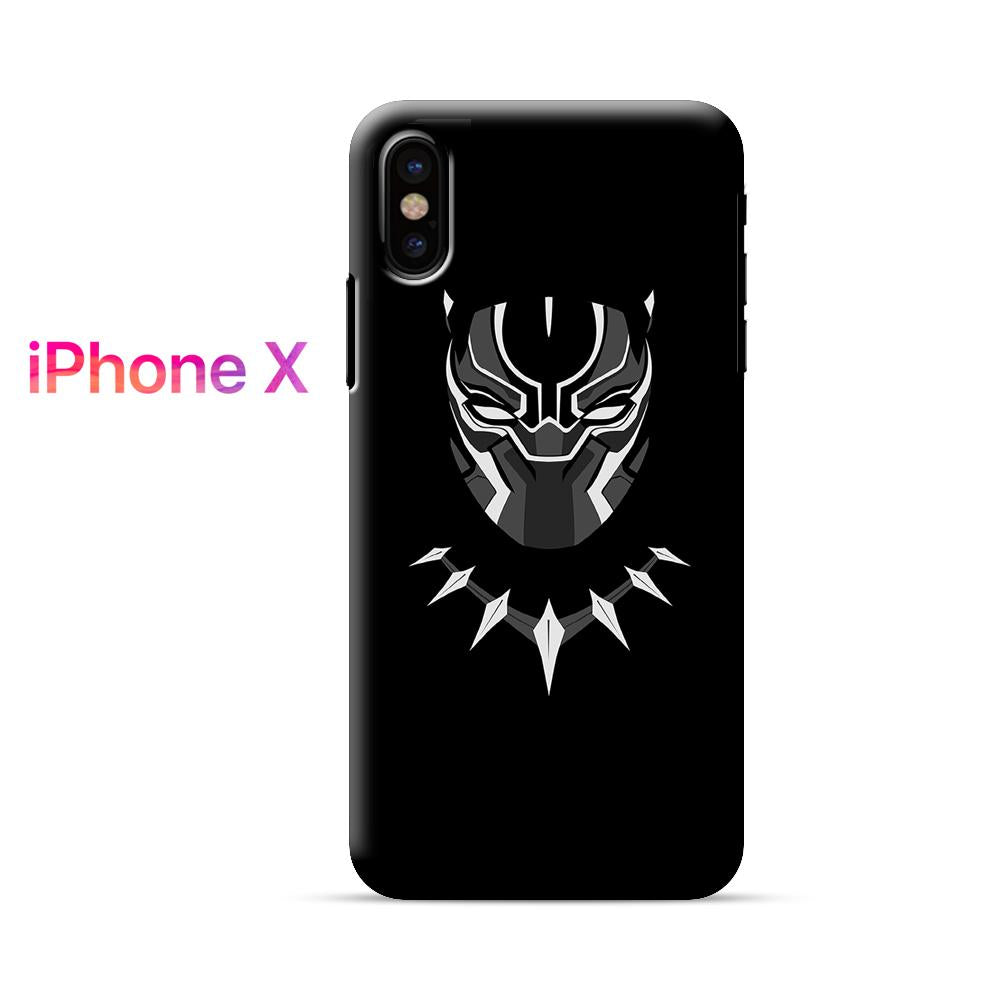 Black Panther Mask iPhone X Case