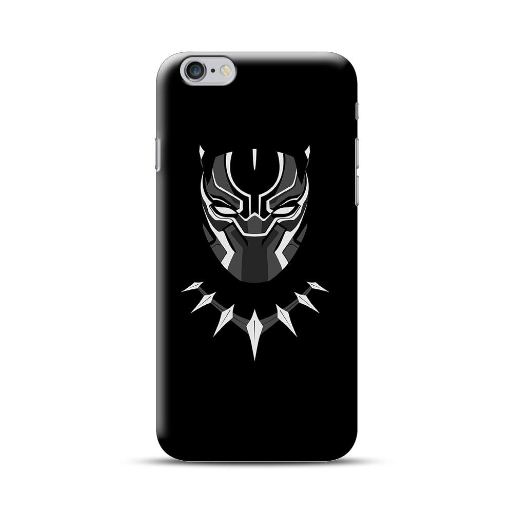 Black Panther Mask iPhone 6 Plus / 6S Plus Case