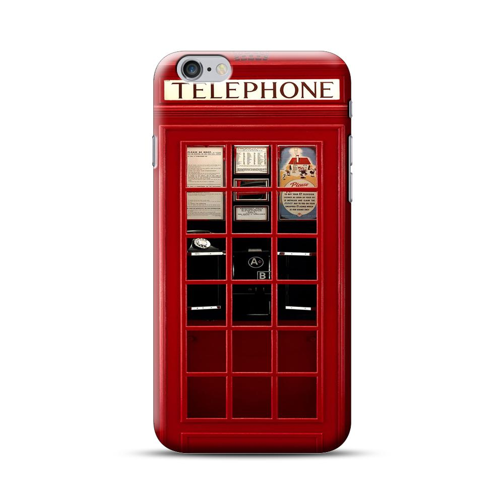 Red Phone Box iPhone 6 Plus / 6S Plus Case