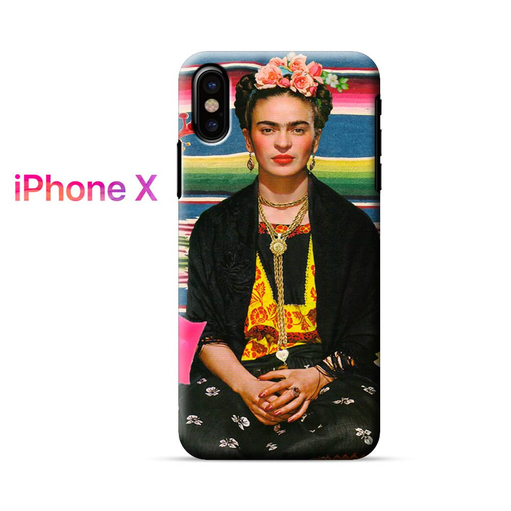 Frida Kahlo Mexican Style iPhone X Case