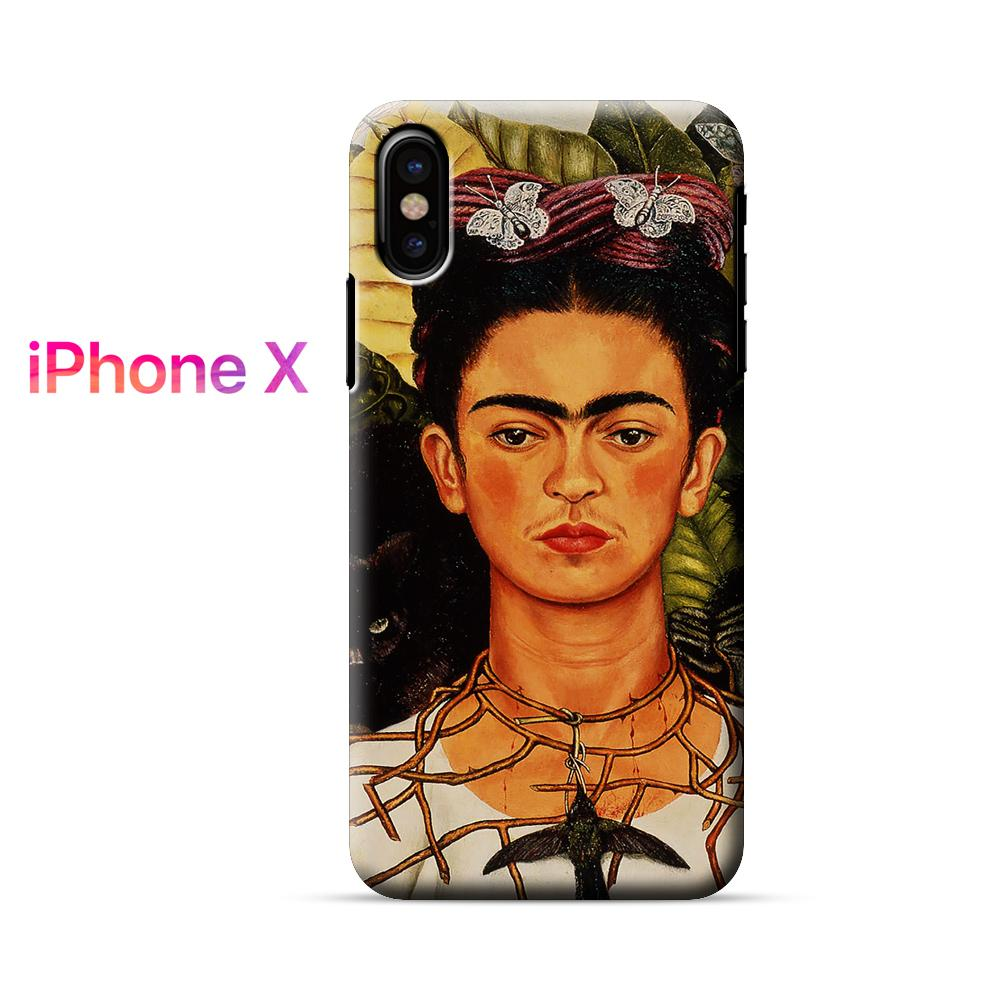 Frida Kahlo Self Portrait iPhone X Case