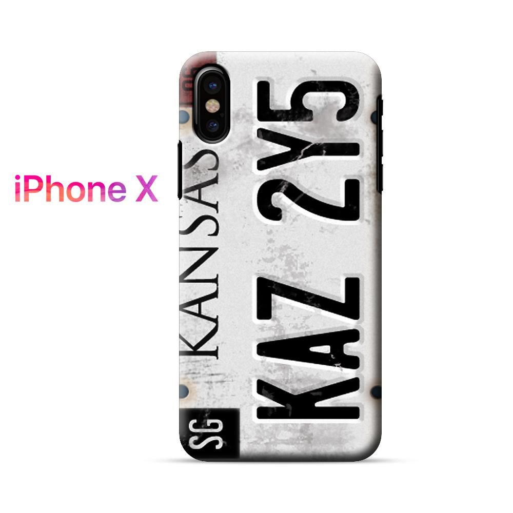 Supernatural Kansas Kaz 2y5 iPhone X Case