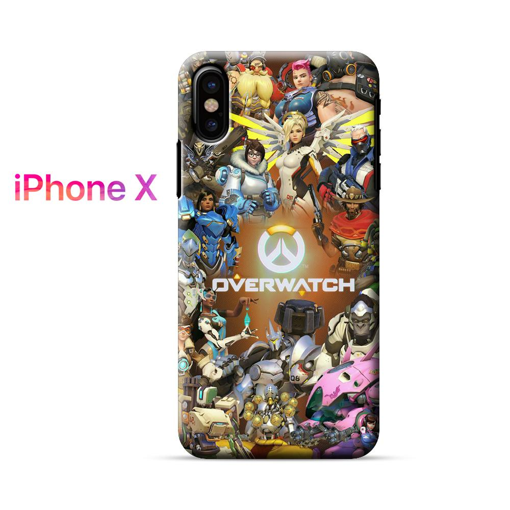 Overwatch All Characters iPhone X Case