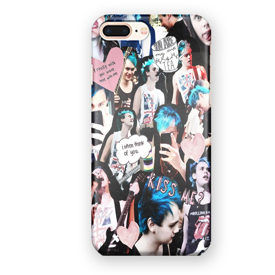 5 Seconds Of Summer Michael Clifford Collage iPhone 7 Plus / 8 Plus Case