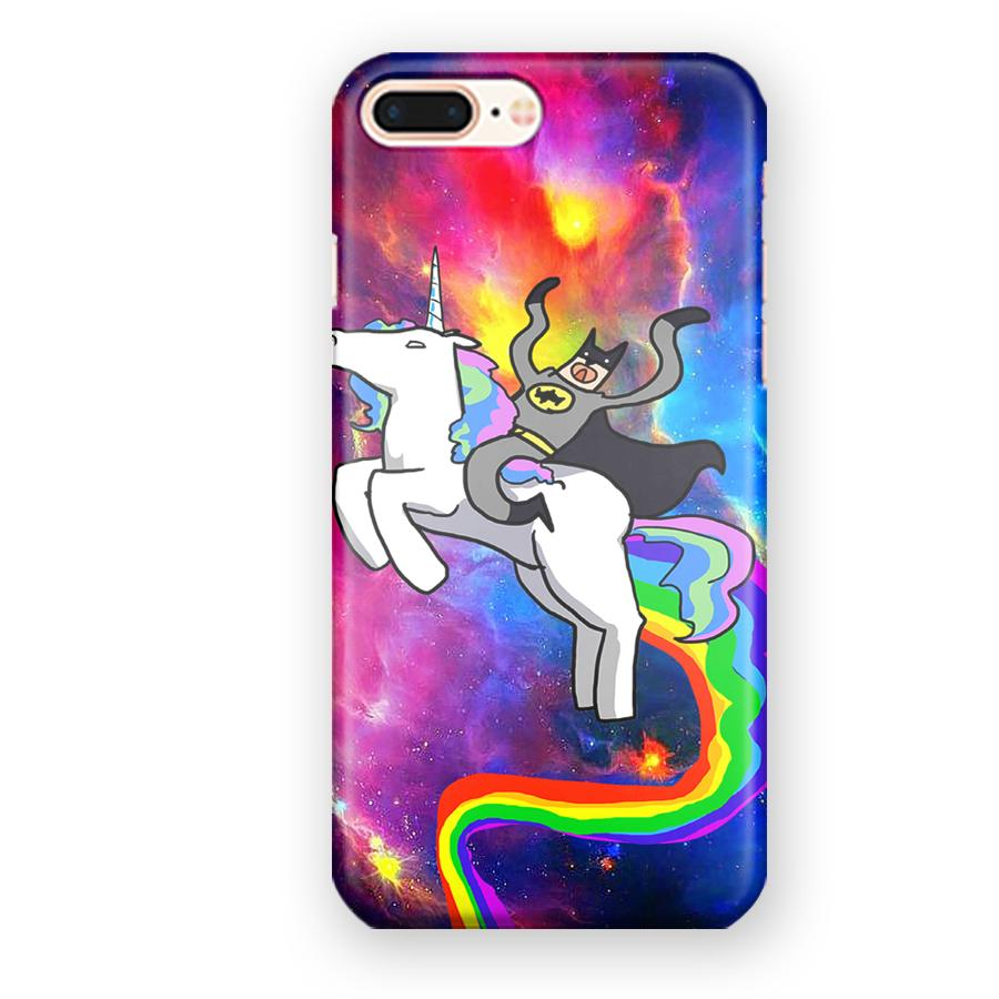 Batman Riding Unicorn Galaxy iPhone 7 Plus / 8 Plus Case