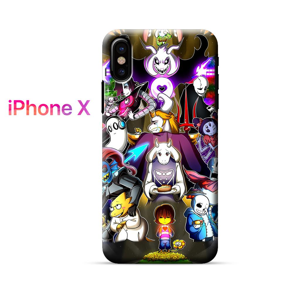 All Undertale Characters iPhone X Case