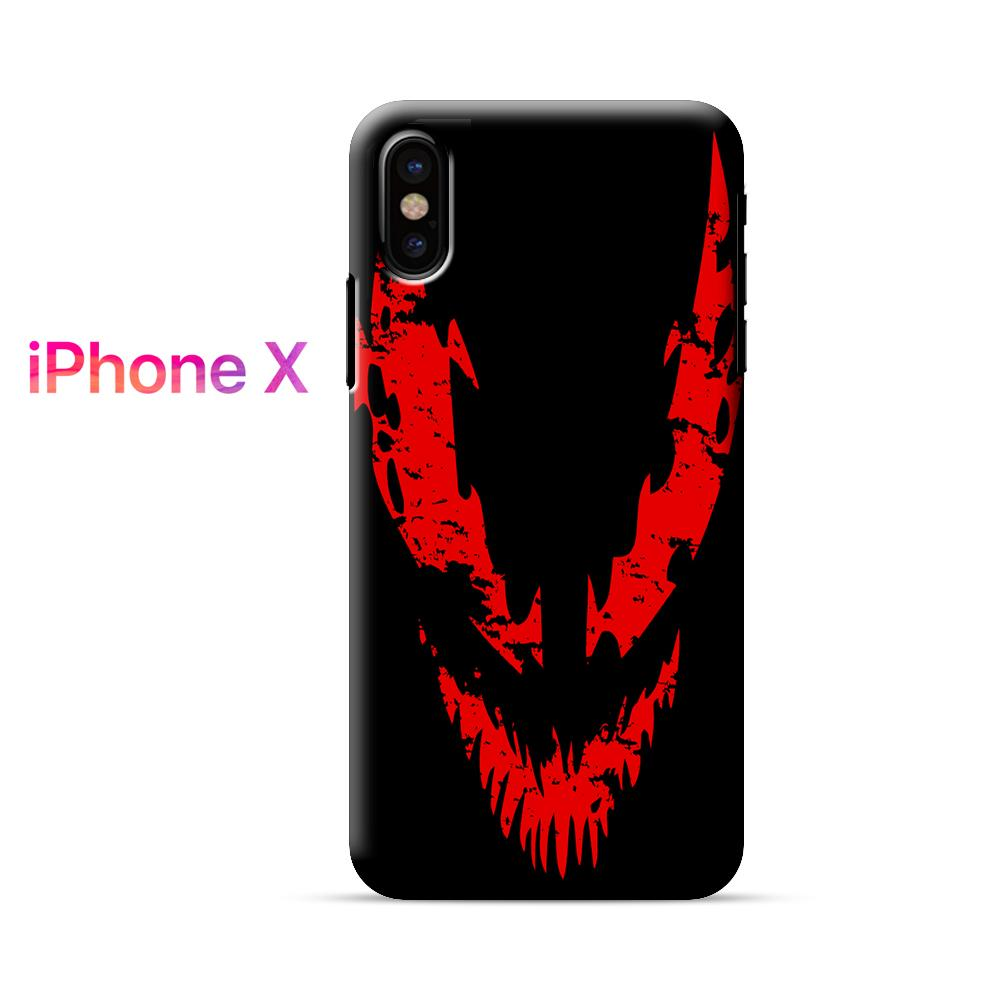 Carnage Logo iPhone X Case