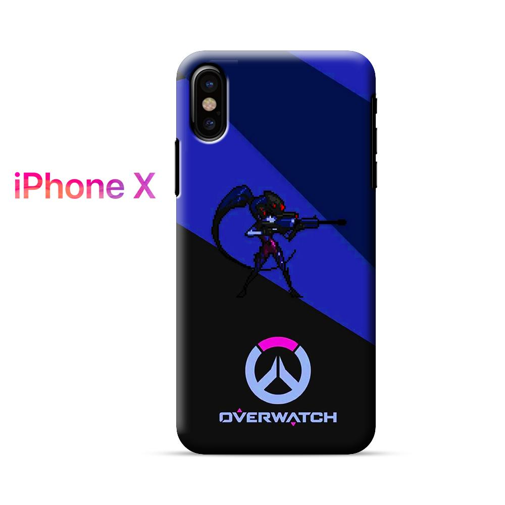 WidowMaker Overwatch iPhone X Case