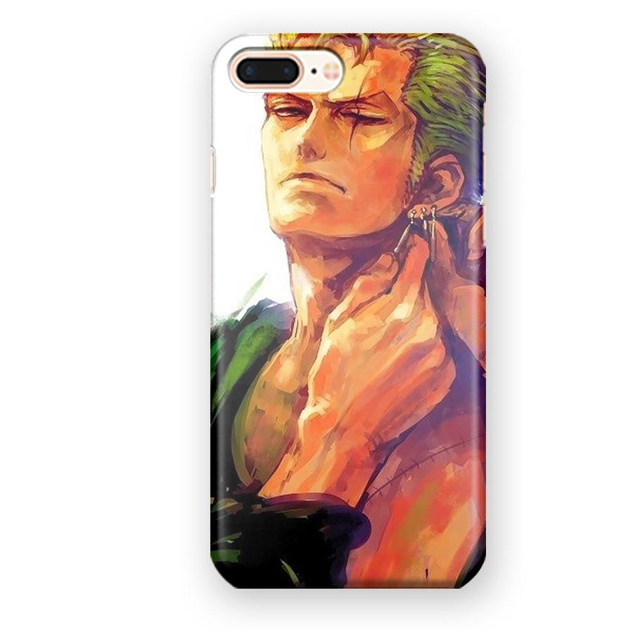 Zoro One Piece Fanart iPhone 7 Plus / 8 Plus Case