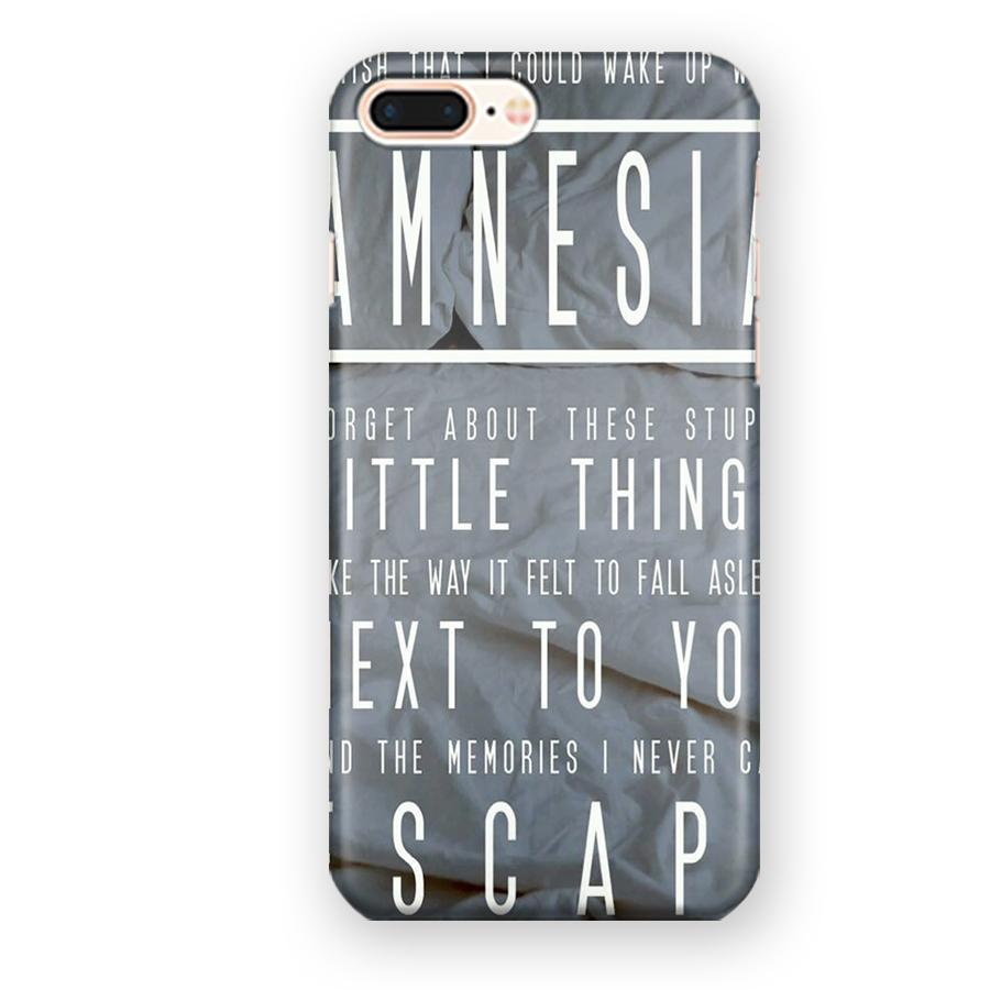 5 Seconds Of Summer Amnesia Lyrics iPhone 7 Plus / 8 Plus Case