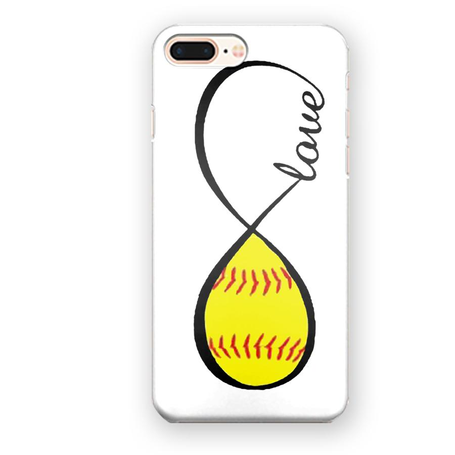 Love Baseball Softball Infinity Sign iPhone 7 Plus / 8 Plus Case