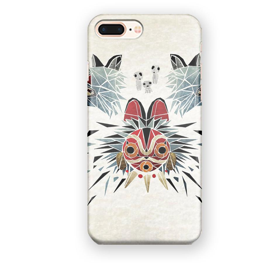 Princess Mononoke Mask iPhone 7 Plus / 8 Plus Case