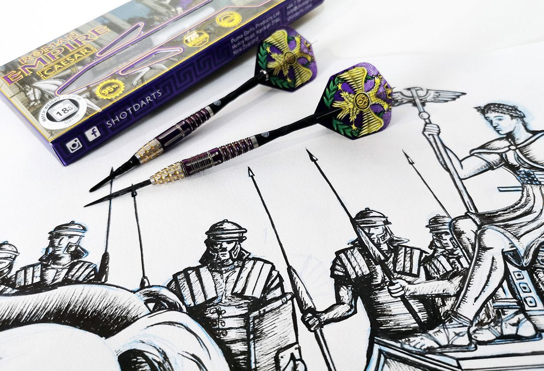 Shot Darts Design Story-Roman Empire