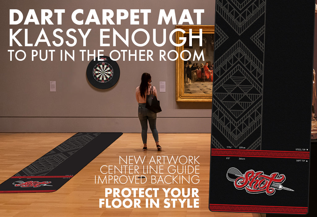 Shot Carpet Mat - Design Story