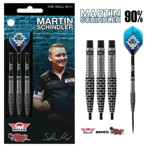 Martin Schindler Steel Tip Dart Set-90% Tungsten Barrels - Shot Darts New Zealand