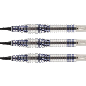 Birds of Prey Falcon Soft Tip Dart Set-90% Tungsten Barrels - Shot Darts New Zealand