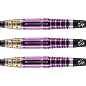 Roman Empire Caesar Soft Tip Dart Set-95% Tungsten Barrels - Shot Darts New Zealand