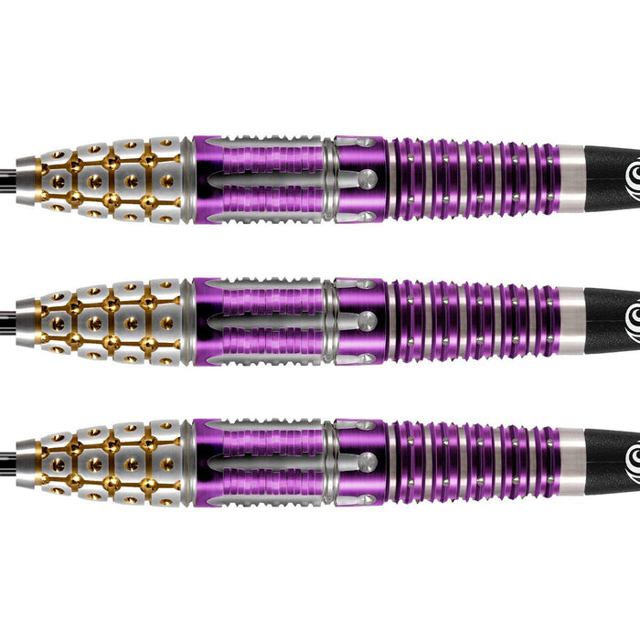Roman Empire Caesar Steel Tip Dart Set-95% Tungsten Barrels - Shot Darts New Zealand