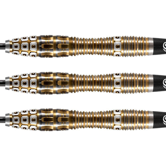 Roman Empire Legion Steel Tip Dart Set-90% Tungsten Barrels - Shot Darts