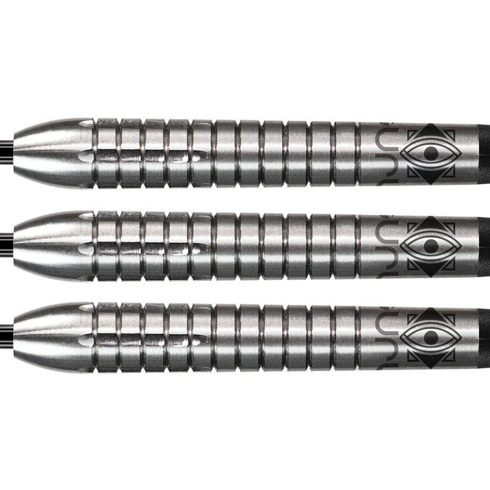 Shot Pro Series-Raymond Smith Steel Tip Dart Set-90% Tungsten Barrels-22gm - Shot Darts