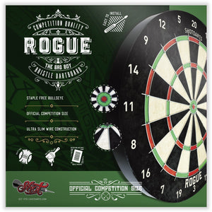 Rogue Bristle Dartboard - Shot Darts New Zealand