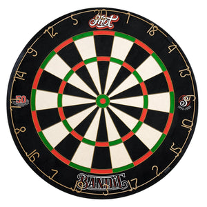 Shot Bandit Dartboard 50th Anniversary Edition - Shot Darts New Zealand