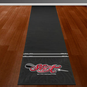Shot Rubber Dart Mat-Heavy Duty - Shot Darts