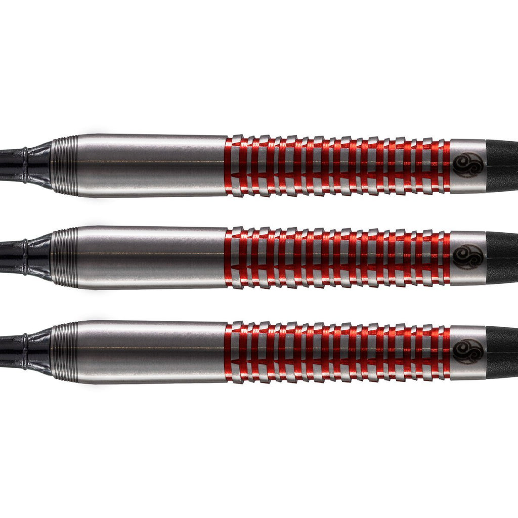 Shot Pro Series-Joe Chaney Soft Tip Dart Set-90% Tungsten Barrels - Shot Darts New Zealand