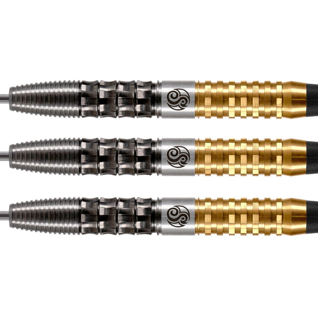 Shot Pro Series-Robert Heckman Dragon-Steel Tip Dart Set-90% Tungsten Barrels - Shot Darts New Zealand