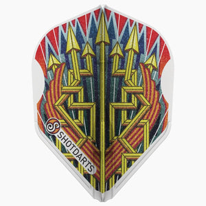 Shot Darts L-Style L3 EZ Shape-Roman Empire Legion Dart Flights