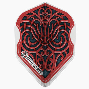 Shot Darts L-Style L3 EZ Shape-Warrior Kapene Dart Flights