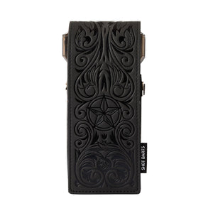 Insignia Dart Case-Wild Frontier-Black Embossed - Shot Darts