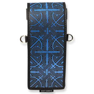 Shot Inked Dart Wallet-Knot-Black