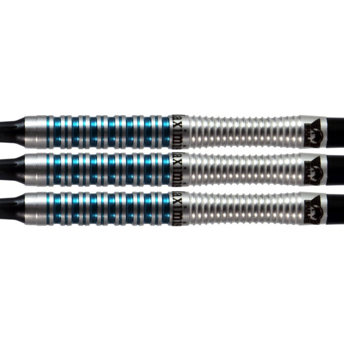 Max Hopp Soft Tip Dart Set-80%-Tungsten - Shot Darts New Zealand