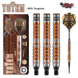 Totem 3 Series Soft Tip Dart Set-85% Tungsten - Shot Darts New Zealand