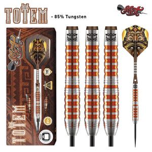 Totem 3 Series Steel Tip Dart Set-85% Tungsten - Shot Darts New Zealand