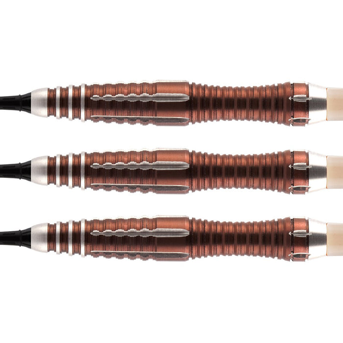 Tribal Weapon 1 Series Soft Tip Dart Set-90% Tungsten Barrels - Shot Darts