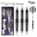 Tribal Weapon 5-Soft Tip Dart Set-90% Tungsten Barrels - Shot Darts New Zealand