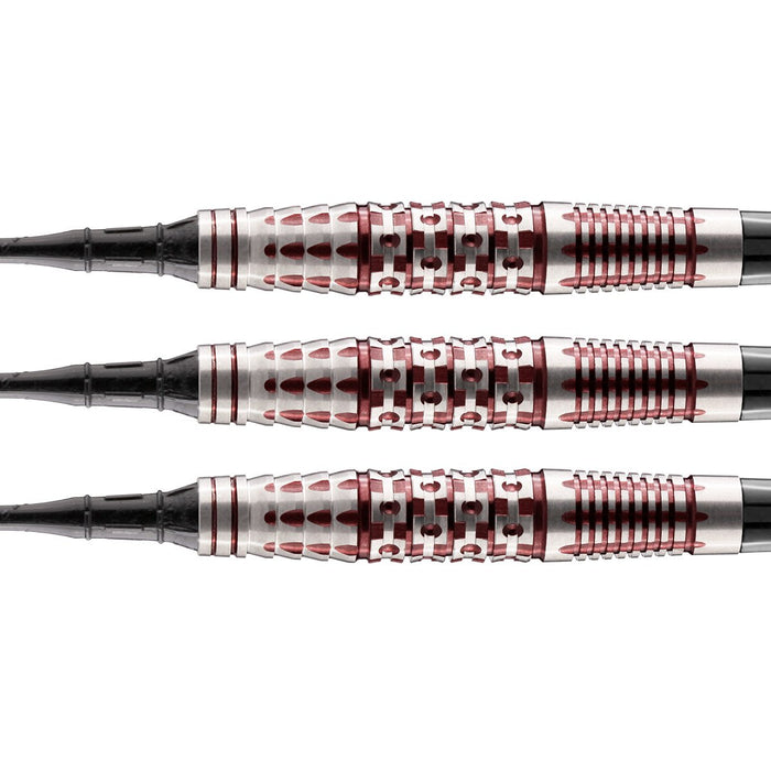 Viking Berserker Soft Tip Dart Set-90% Tungsten Barrels - Shot Darts New Zealand
