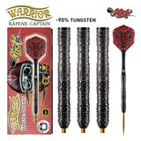 Warrior Kapene Steel Tip Dart Set-90% Tungsten Barrels